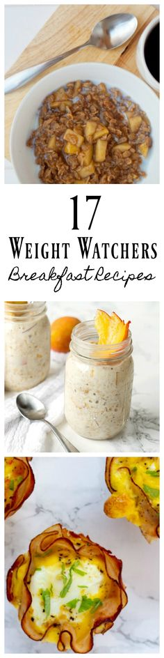 Looking for a tasty breakfast? Check out this list of tasty Weight Watchers Breakfast Recipes! Including Weight Watchers pancakes, muffins and more! #weightwatchers #weightwatchersrecipes #breakfast