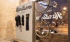 Handsome Cycles - Graphic Design portfolio of Marina Groh