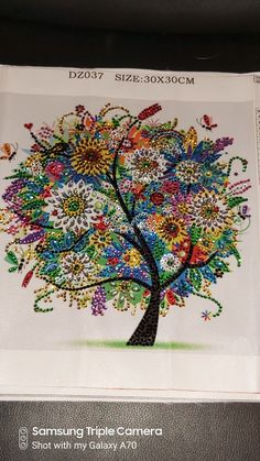 Diamond pictures Diamond Picture, Colorful Trees, Tapestry, Artwork, Pictures, Home Decor, Home, Hanging Tapestry, Photos