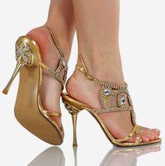 Zapatos de mujer - Womens Shoes - Maravillosos zapatos para fiestas de 15 años