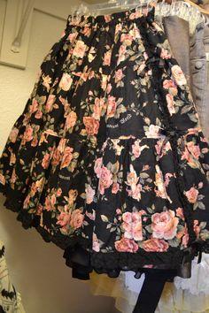 Innocent World Angel/Cherub Rose Skirt (black
