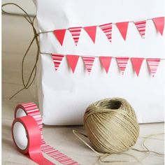 El Blog de Cocottó: Washi Tape Ideas #washitape #packaging / great idea with washi tape