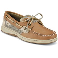 Sperry Top-Sider Bluefish 2-Eye Boat Shoes in Linen-Oat.  Super comfortable and super classic!