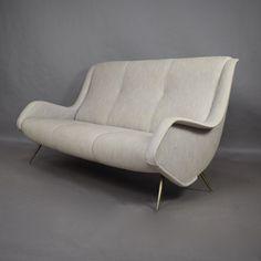 Italian mid-century sofa, 1950s