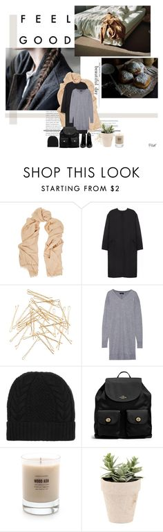 """Untitled #2715"" by pillef ❤ liked on Polyvore featuring mode, Valentino, Non, Monki, Isabel Marant, N.Peal Cashmere, Coach, Baxter of California et Opening Ceremony"