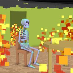 New trending GIF on Giphy. fire skeleton this is fine. Follow Me CooliPhone6Case on Twitter Facebook Google Instagram LinkedIn Blogger Tumblr Youtube