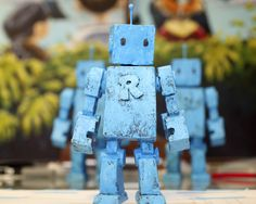 Rex the robot sculpture by artist Mike Rivamonte #robot #gifts