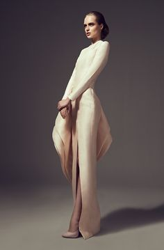 Ashi Studio - Couture. From this side view I think this is a stunning dress.