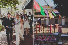 Peep This Totally Pin-Worthy Wedding Fiesta! #refinery29