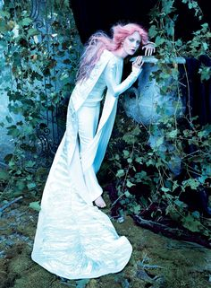 Saoirse Ronan, 2011 - Photographed by Steven Meisel, Vogue, December 2011