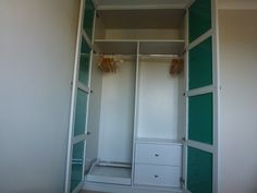 Internal view fitted wardrobes