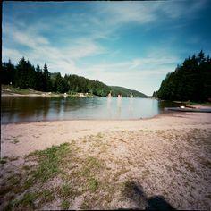 pinhole shot - lake