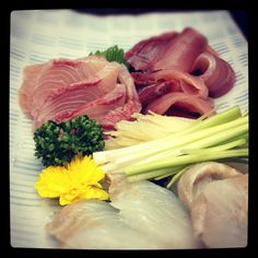 sea bass & yellowtail. #fish#sashimi#sushi#food#health