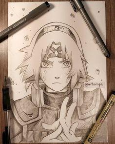 Otaku Anime, Anime Naruto, Naruto Shippuden Anime, Naruto Art, Manga Anime, Boruto, Manga Art, Naruto Sketch Drawing, Anime Boy Sketch