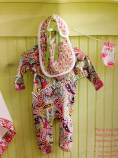 Vera Bradley Baby Items March 2013! so adorable! Can't wait to see the new diaper bags!  Must remember for girly baby shower gifts!