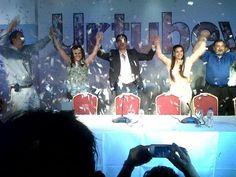 Así festejan los candidatos electos del Frente para la Victoria #ArgentinaDecide #Elecciones2013  (Foto: vía @lizankita)