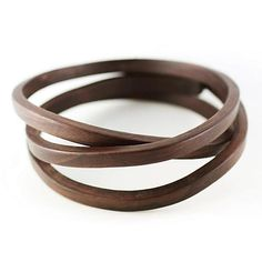 If It's Hip, It's Here: Limited Edition Bent Wood Bracelets & Cuffs By Gustav Reyes