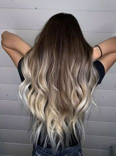 64 Medium to Long Hair Styles Ombre Balayage Hairstyles for . - hair Medium to Long Hair Styles Ombre Balayage Hairstyles for Women Cabelo Ombre Hair, Baliage Hair, Brown Ombre Hair, Ombre Hair Color, Hair Colour, Long Ombre Hair, Pinterest Hair, Brunette Hair, Hair Highlights