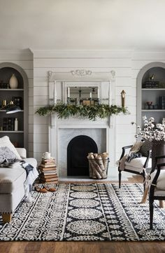 Explore the Magnolia Home area rug collection by Joanna Gaines, produced by Loloi. Styles include farmhouse, boho, modern, and kilim and will work in any home.