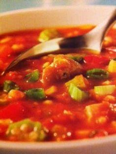 Easy crockpot recipes: Chicken Gumbo Crockpot Recipe