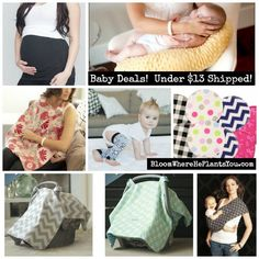 Baby Deals! All Under $13 Shipped!