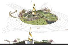 Landscape Design, Roundabout | Natalia Krysiak | Portfolio