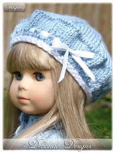 2 Free Knitted Hat Patterns: Debonair Designs