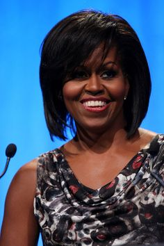 Michelle Obama | Proof That Bangs Can Totally Change Your Face