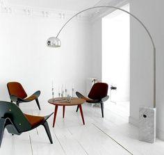 Interiors designed by Nacho Polo Flos Arco floor lamp, Hans J. Home Furniture, Furniture Design, Arco Floor Lamp, Architecture Design, Piece A Vivre, Interior Inspiration, Interior And Exterior, Modern Design, Applique