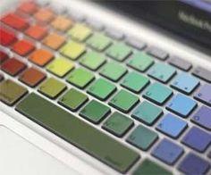 MacBook Rainbow Keyboard $9.99