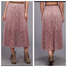 "HPFree People skirt NWT size 6 Stunning skirt - waist: app. 14"" when flat.⛔️NO TRADE ✨ 10% if bundled. Free People Skirts"