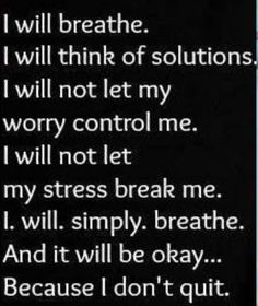 Take a breath, allow yourself the mental space to create solutions to your problems & be relentless in solving them. Know that you will figure it out. www.sagebrushcoaching.com