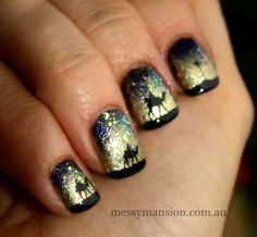 picture nativity manicure   Merry Christmas To All: Here's 25 Fancy Fab Christmas Nails! - Merry ...