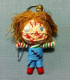 Hey, I found this really awesome Etsy listing at https://www.etsy.com/listing/174829299/chucky-killer-horror-movie-string-voodoo