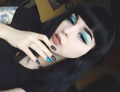 """17k Likes, 53 Comments - Amanda Alice (@foxfell) on Instagram: """"Still not over the beauty of the shades in the Elvira palette from @lunatickcosmeticlabs ✨✨✨…"""""""