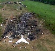 Vladivostok Airlines Flight 352 crashed in Burdanovka Russia. July 3, 2001.