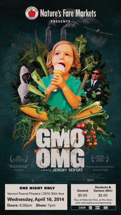 """If you're in Vernon this August check out the film screening of """"GMO OMG"""" hosted by See Videos, Event Marketing, Vernon, First Night, Documentaries, Presentation, Student, Events, Film"""