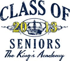 Senior Class T-Shirt Design - change the year - Classic Crown (clas-890c5)