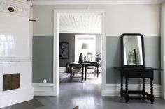 Two tone Living Room Paint Idea Inspirational Two tone Wall Color Modern Paint Colors for Bedroom Ideas Room Wall Colors, Bedroom Paint Colors, Paint Colors For Living Room, Living Room Grey, Living Room Interior, Two Tone Walls, Modern Paint Colors, Decor Room, Bedroom Wall