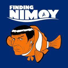 Finding Nemo Star Trek Finding Nimoy