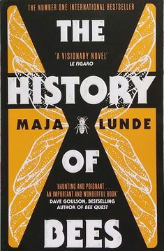 Book review of The History of Bees by Maja Lunde. If you are looking for a great read, perhaps literary fiction that deals with challenging relationships and self-discovery you should try The History of Bees. If you also like to have that literature layered with historical fiction and dystopian or speculative fiction that asks disturbing questions about humanity and natures near future, you will love The History of Bees! Check it out!
