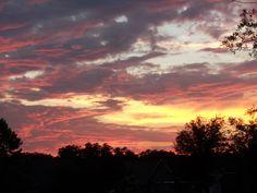Sunset 5-4-12 Central Florida