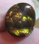 MEXICAN Fire Agate Cab From Mexico Gemstone Natural 11x10 fire