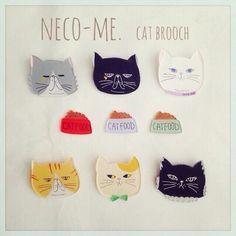 猫好きさんお待たせ致しました!neco-me.オリジナルの猫さん達が集合しました♡目つきはあえて悪めに。エキゾチックショートヘアは初登場!(ブルドッグではござ...|ハンドメイド、手作り、手仕事品の通販・販売・購入ならCreema。