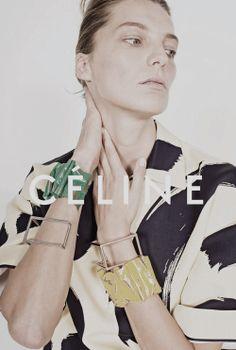 dariawerbowyfan:  Céline Spring/Summer 2014 (Ad Campaign)Photographer: Juergen Teller