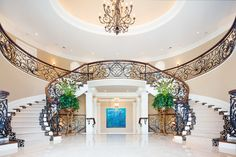 Old World Elegance traditional-staircase David Small Designs