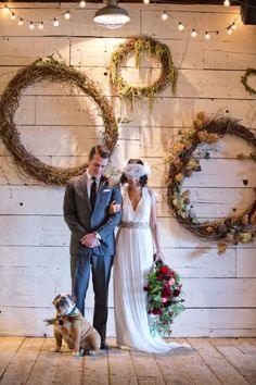 style | Laverne Gown from BHLDN | terrain wedding inspiration shoot | via: design*sponge