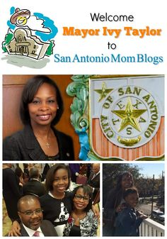 Welcome San Antonio Mayor Ivy Taylor to San Antonio Mom Blogs!