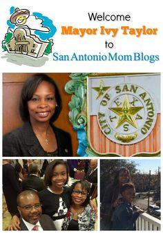 Welcome San Antonio Mayor Ivy Taylor to San Antonio Mom Blogs!