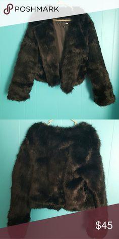 e4038662c44 Popular Women s Fashion ideas. Spotted while shopping on Poshmark  Black fur  coat plus size ...